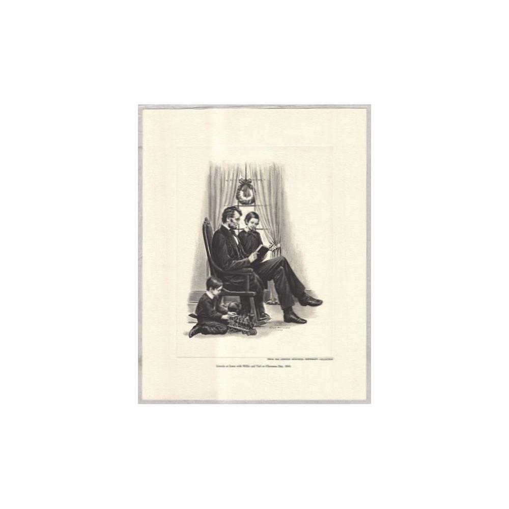 Image: Lincoln at Home on Christmas Day