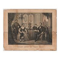Image: President Lincoln and Family Circle