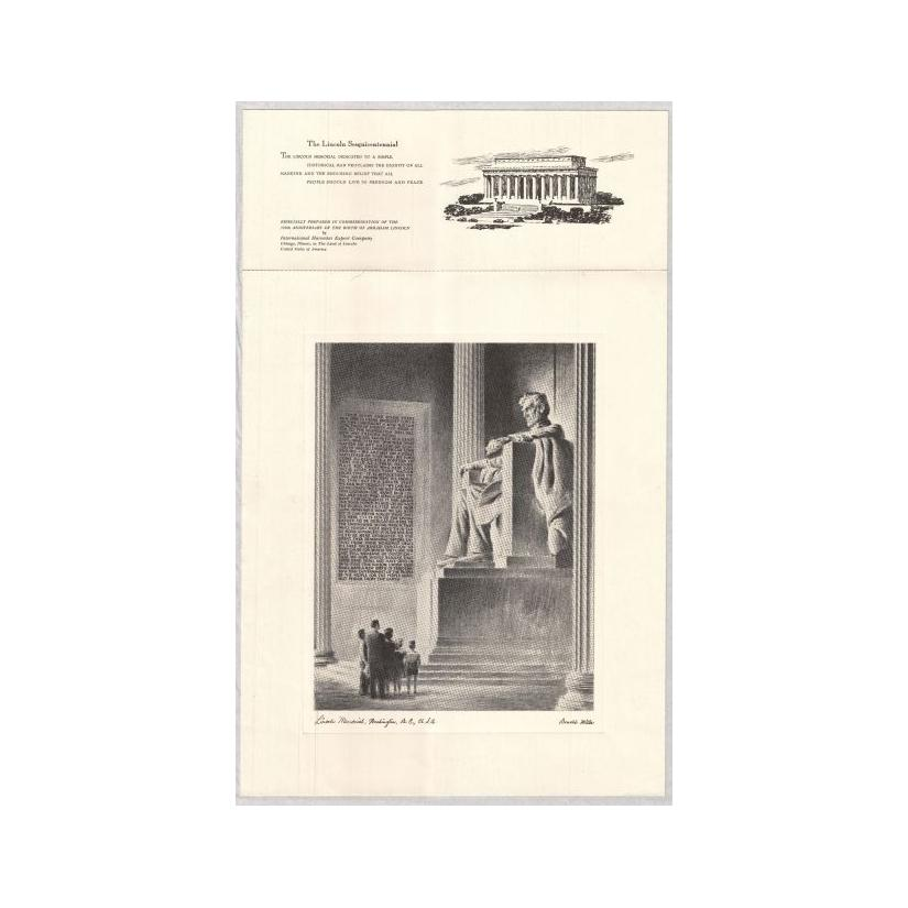 Image: Lincoln Memorial, Washington, D.C. U.S.A