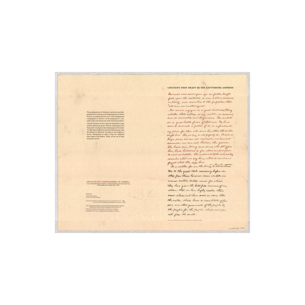 Image: Gettysburg Address