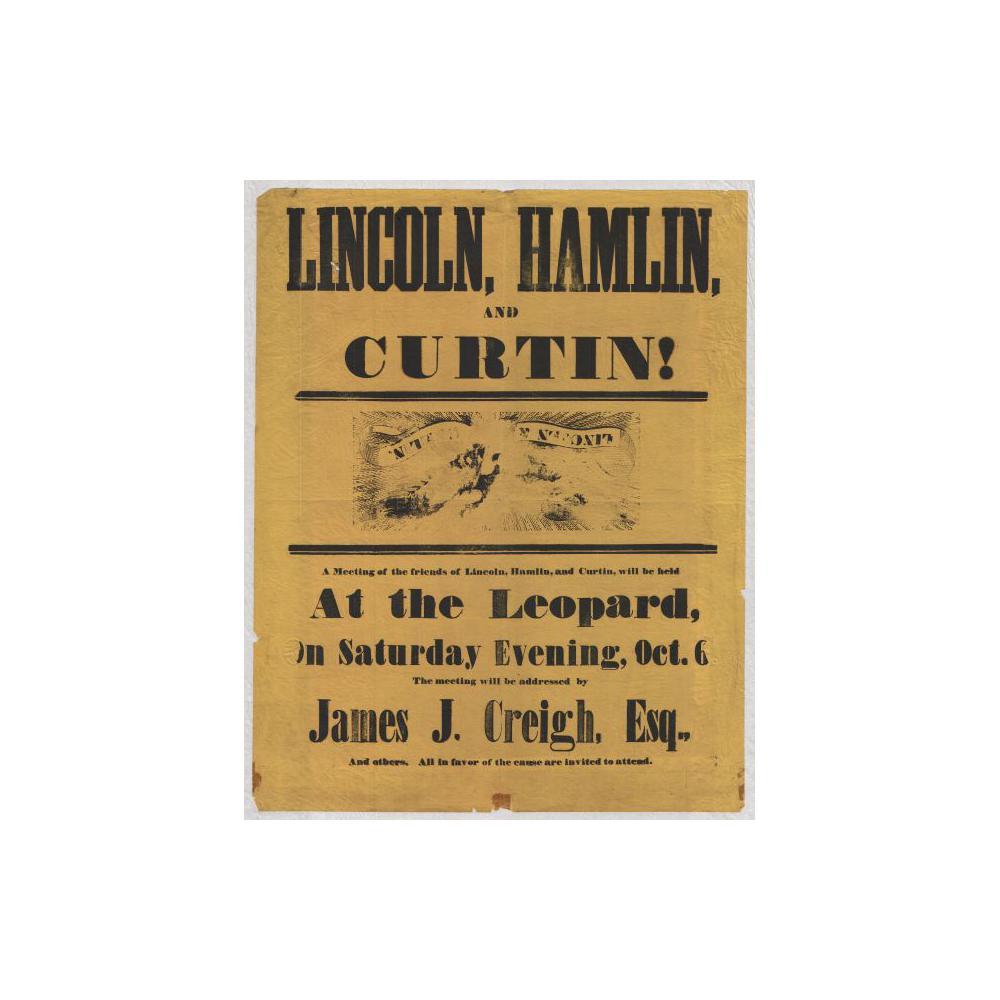 Image: Lincoln, Hamlin, and Curtin!