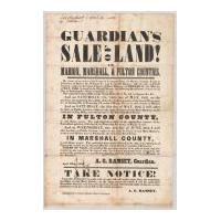Image: Guardian's Sale of Land in Marion, Marshall, and Fulton Counties