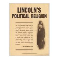 Image: Lincoln's Political Religion
