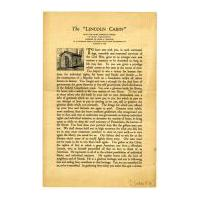 Image: Lincoln Cabin: an Address by Louis A. Coolidge