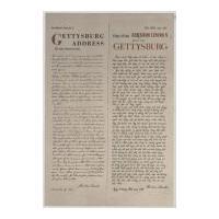 Image: Gettysburg Address in English and Vietnamese