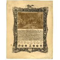 Image: The Declaration of Independence, with Fac-similes of the Signatures...