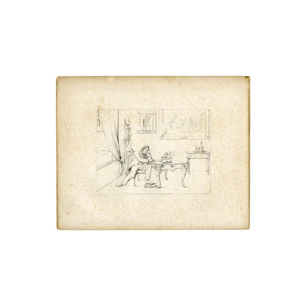 Image: Writing the Emancipation Proclamation