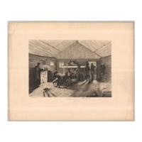 Image: Plate 13: Officer's Winter Quarters