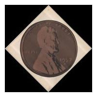 Image: 1957 Lincoln Penny Print