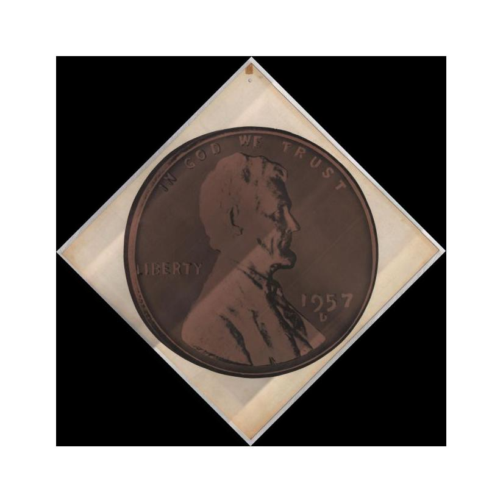 Image: 1957 Lincoln Penny Print