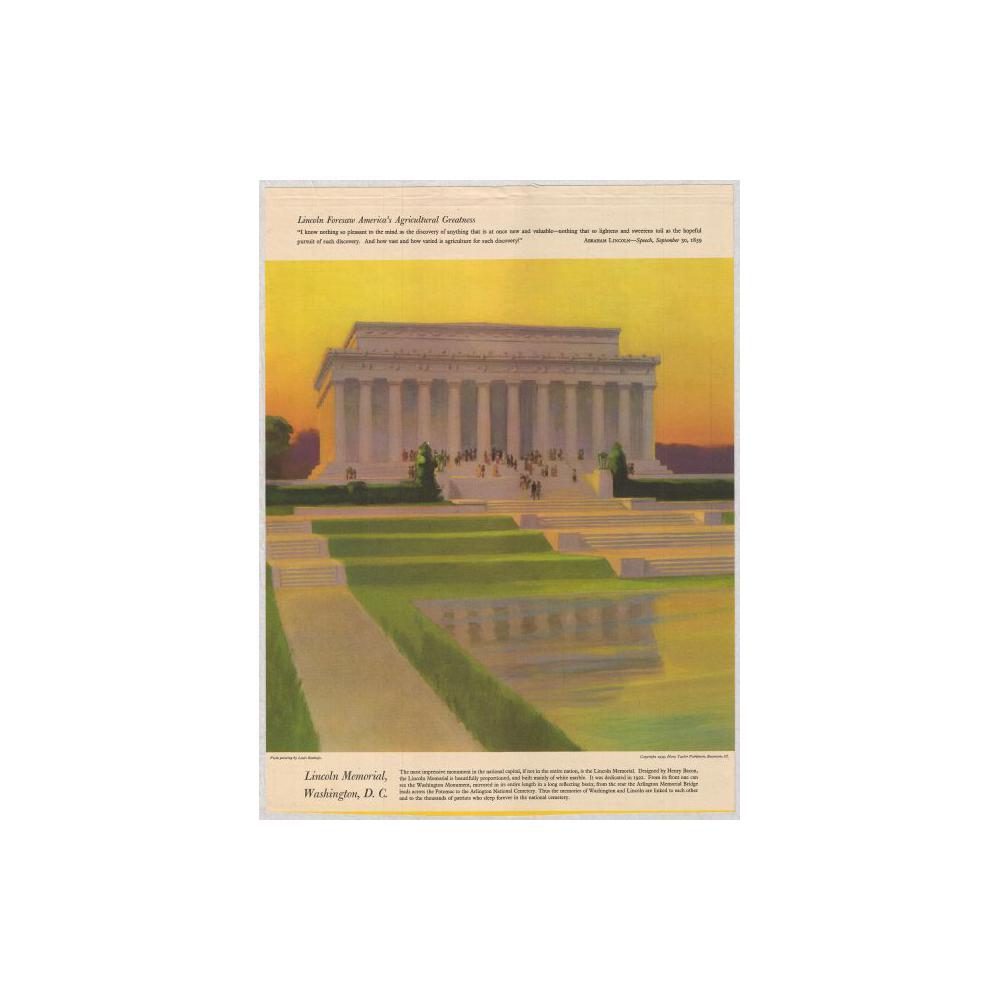 Image: Lincoln Memorial, Washington D. C.