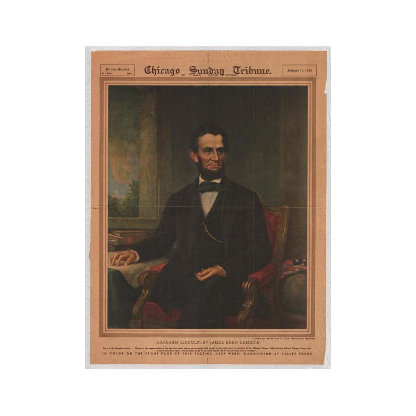 Image: Abraham Lincoln: by James Read Lambdin