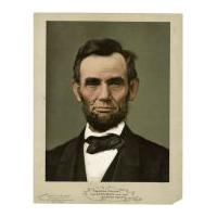 Image: Lincoln Portrait - Color