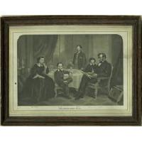 Image: The Lincoln Family in 1861