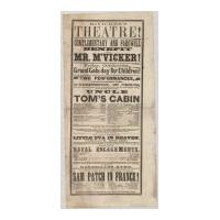 Image: McVicker's Theatre playbill