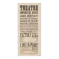 Image: Theatre playbill