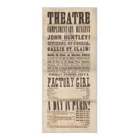 Image: Peoria, Illinois, Theatre playbill