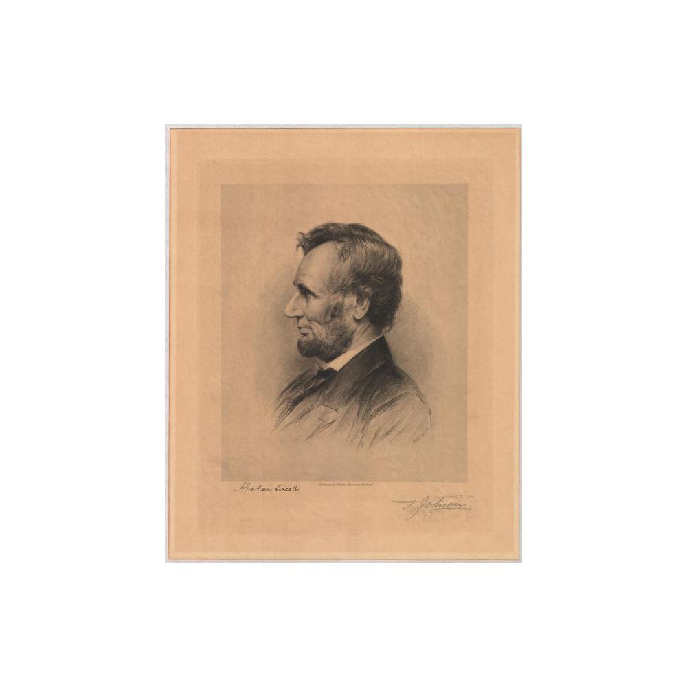 Image: Lincoln in profile
