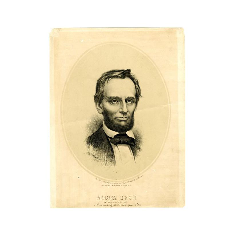 Image: Abraham Lincoln, 16th President of America
