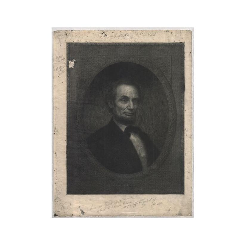 Image: Marshall portrait of Abraham Lincoln