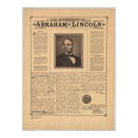 Image: Autobiography of Abraham Lincoln