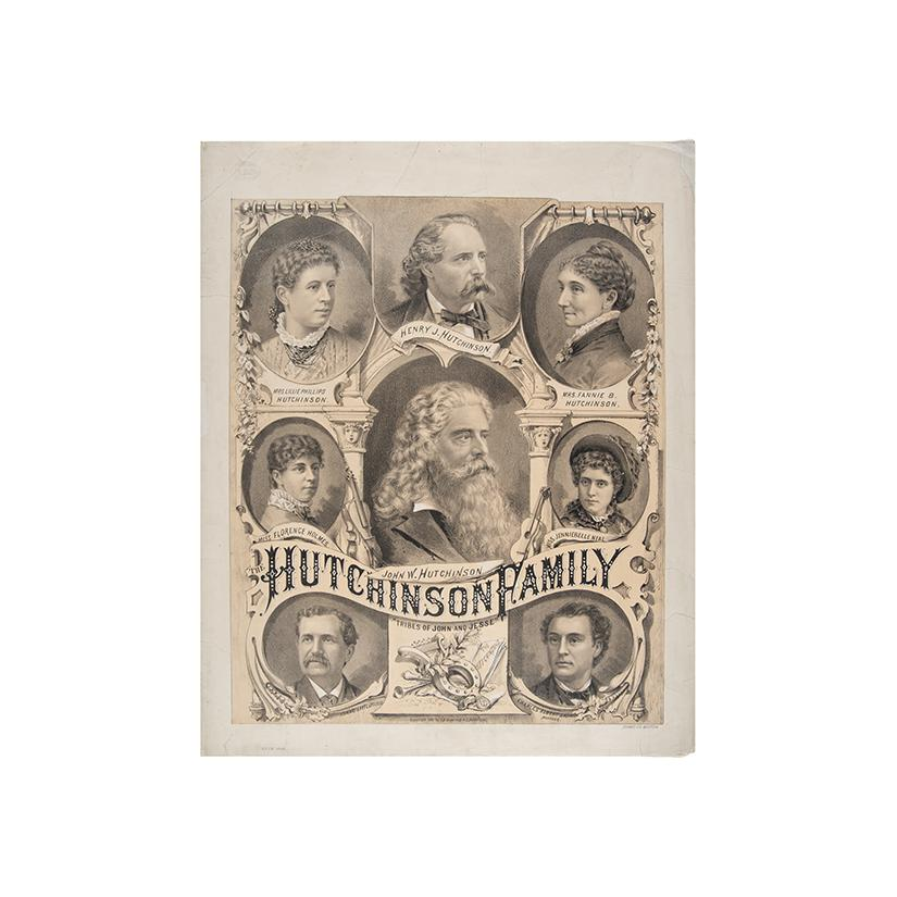 "Image: Hutchinson Family ""Tribes of John and Jesse"""