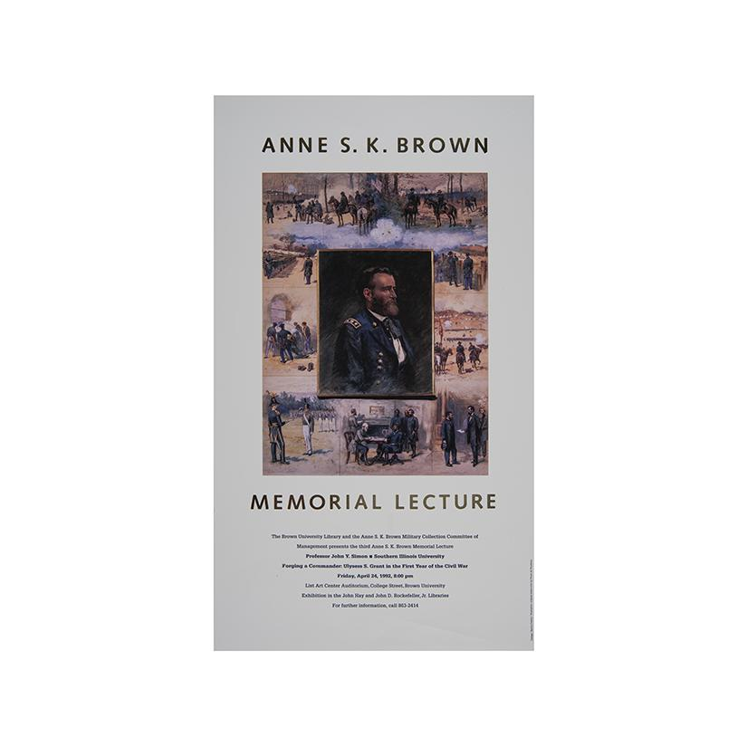 Image: Anne S. K. Brown Memorial Lecture