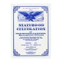 Image: Statehood Celebration at Old State Capitol, Springfield, Illinois