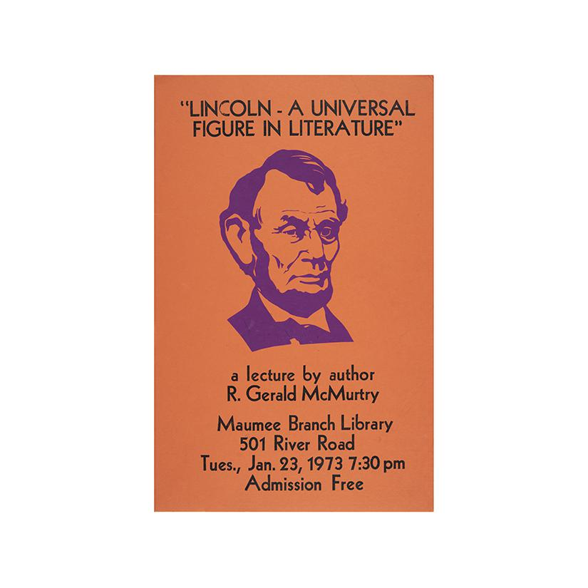 Image: Lincoln: A Universal Figure in Literature  poster