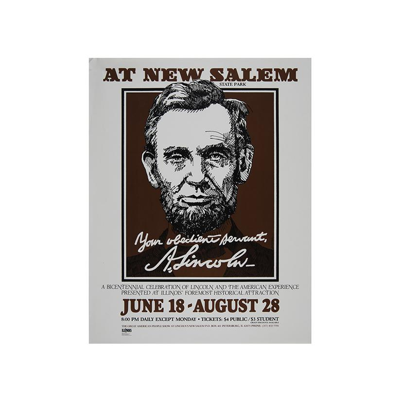 Image: Your Obedient Servant, A. Lincoln  poster