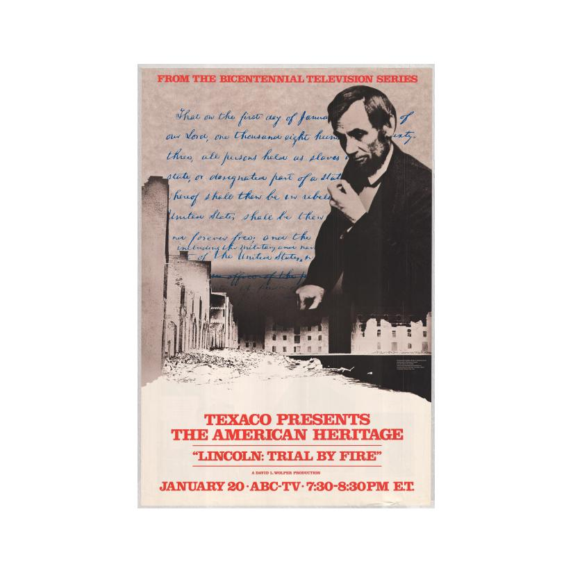 Image: Lincoln: Trial by Fire poster