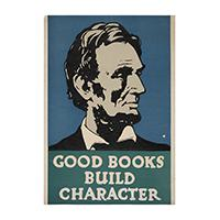 Image: Good Books Build Character poster