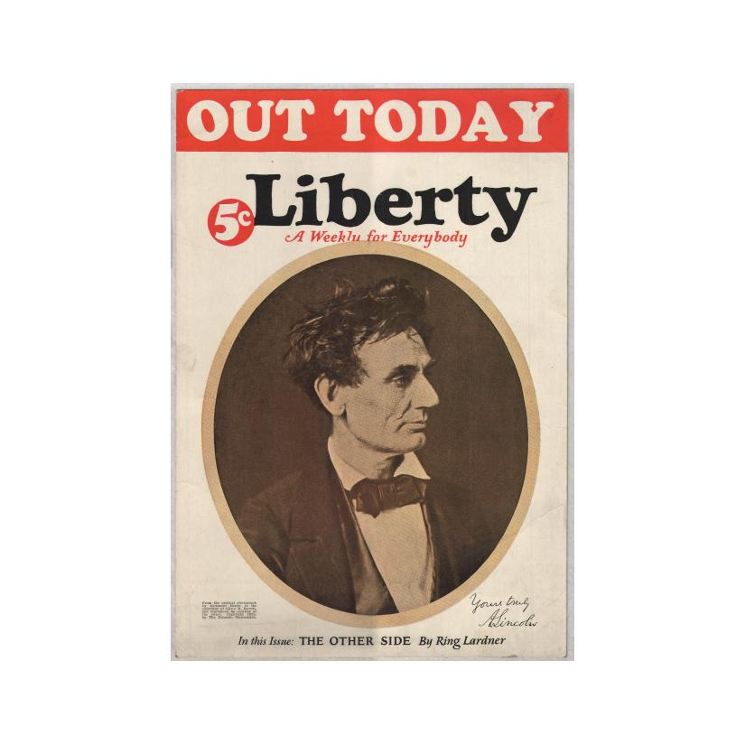 Image: Liberty: A Weekly for Everybody  poster