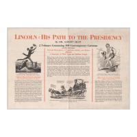 Image: Lincoln: His Path to the Presidency  poster