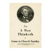 Image: As a Man Thinketh  poster