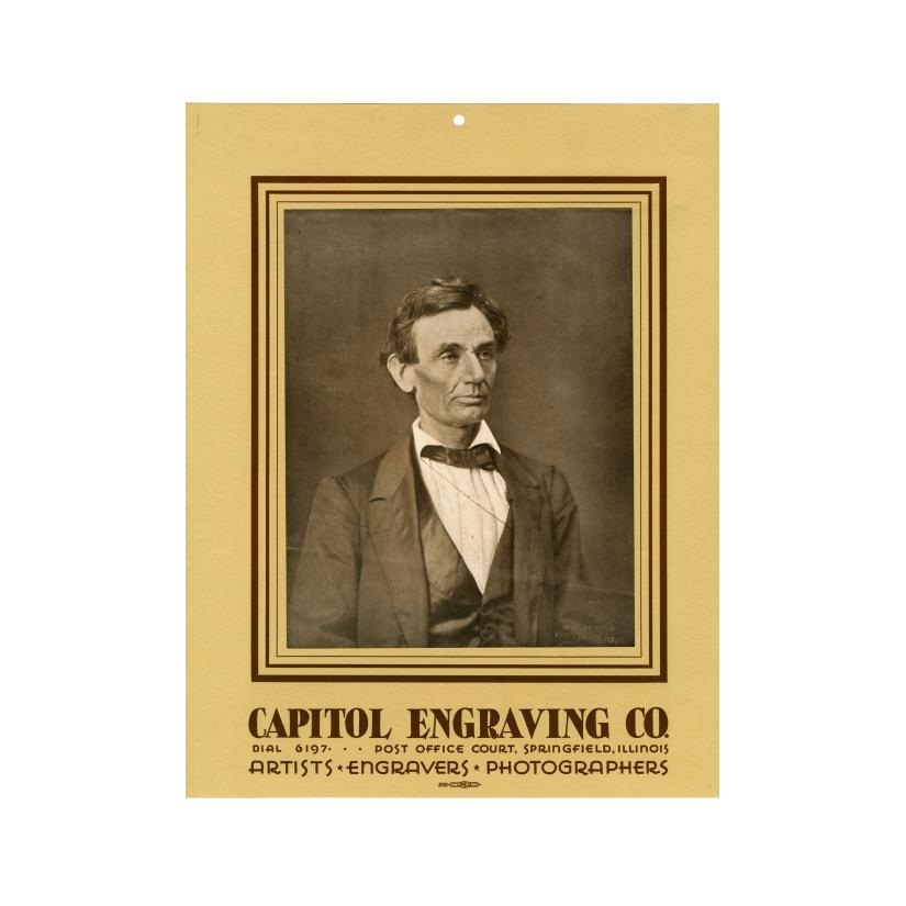 Image: Capitol Engraving Co.  poster