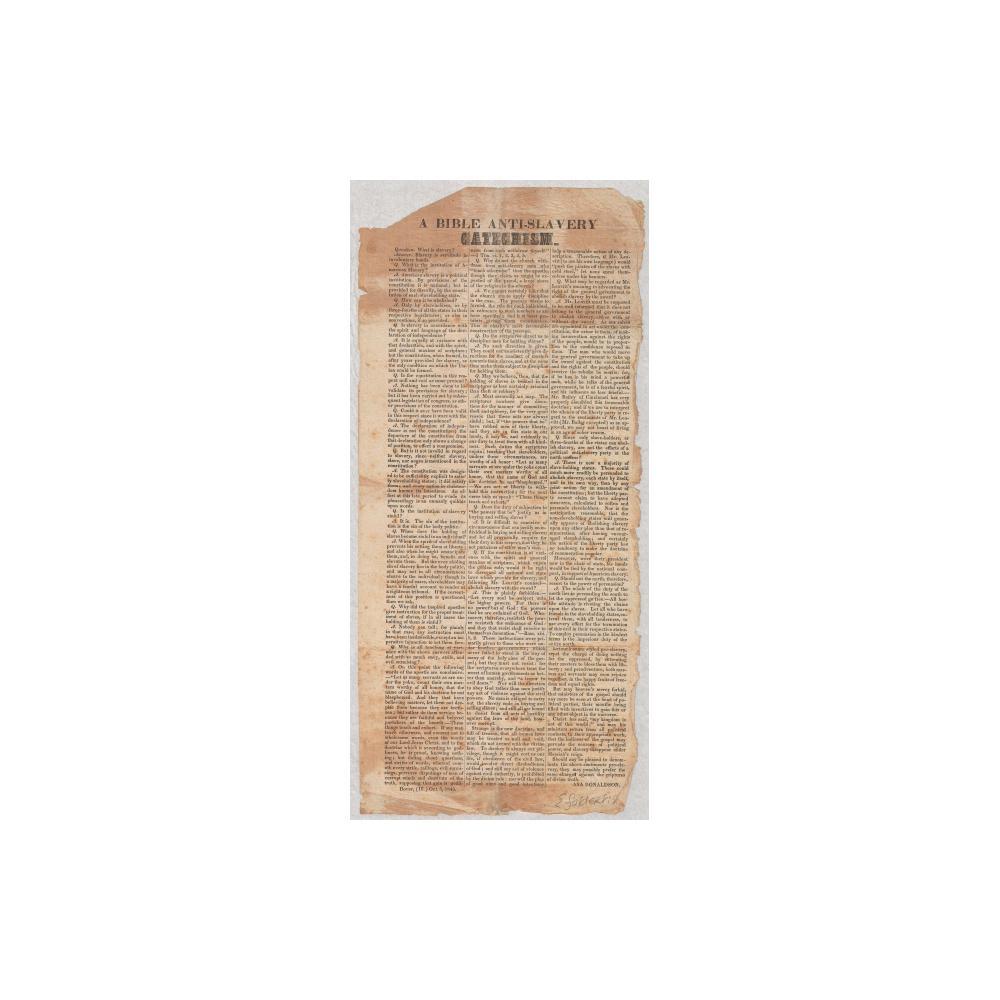 Image: A Bible Anti-slavery Catechism