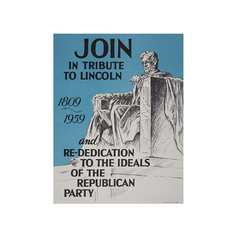 Image: Join in Tribute to Lincoln  poster