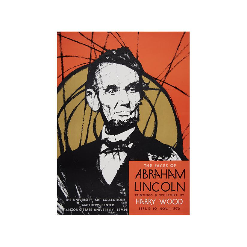 Image: Faces of Abraham Lincoln: Paintings and Sculpture by Harry Wood