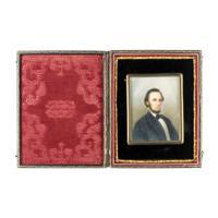 Image: President Lincoln Miniature Portrait