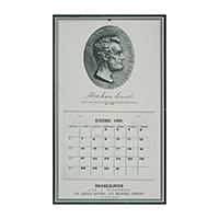 Image: Lincoln National Life Insurance Company Spanish calendar
