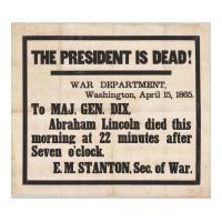 Image: President is Dead!