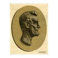 Image: Abraham Lincoln bas relief