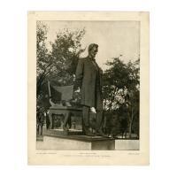 Image: Lincoln Park Abraham Lincoln statue photograph