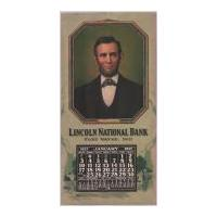 Image: 1937 Wall Calendar for Lincoln National Bank