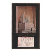 Image: 1953 Lincoln National Bank & Trust Company wall calendar