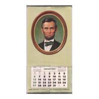 Image: 1963 Lincoln National Life Insurance Company wall calendar