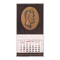 Image: 1966 Lincoln National Life Insurance Company wall calendar