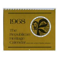 Image: 1968 Republican Heritage Calendar