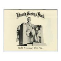 Image: Lincoln Savings Bank 120th Anniversary Calendar, 1866-1986